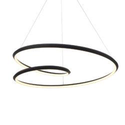 Kuzco PD22332-BK suspendu circulaire
