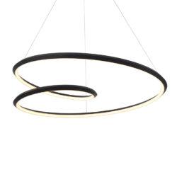 Kuzco PD22339-BK suspendu circulaire