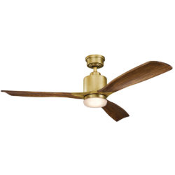 Kichler 300027NBR ventilateur intérieur