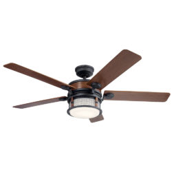 Kichler 310170AUB ventilateur extérieur