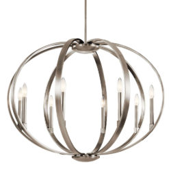Kichler 43872CLP suspendu sphère