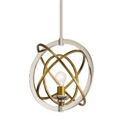 Kichler 44201PN suspendu sphère