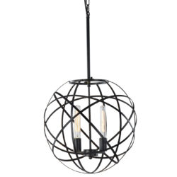Matteo C57802BK suspendu sphère