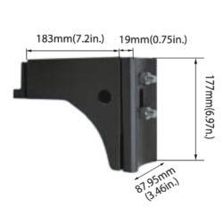 Turolight 3660014 adapteur pour poteau rond ou carré série ssl