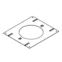 Turolight 3660060 plaque montage 6po pour rgd-sp